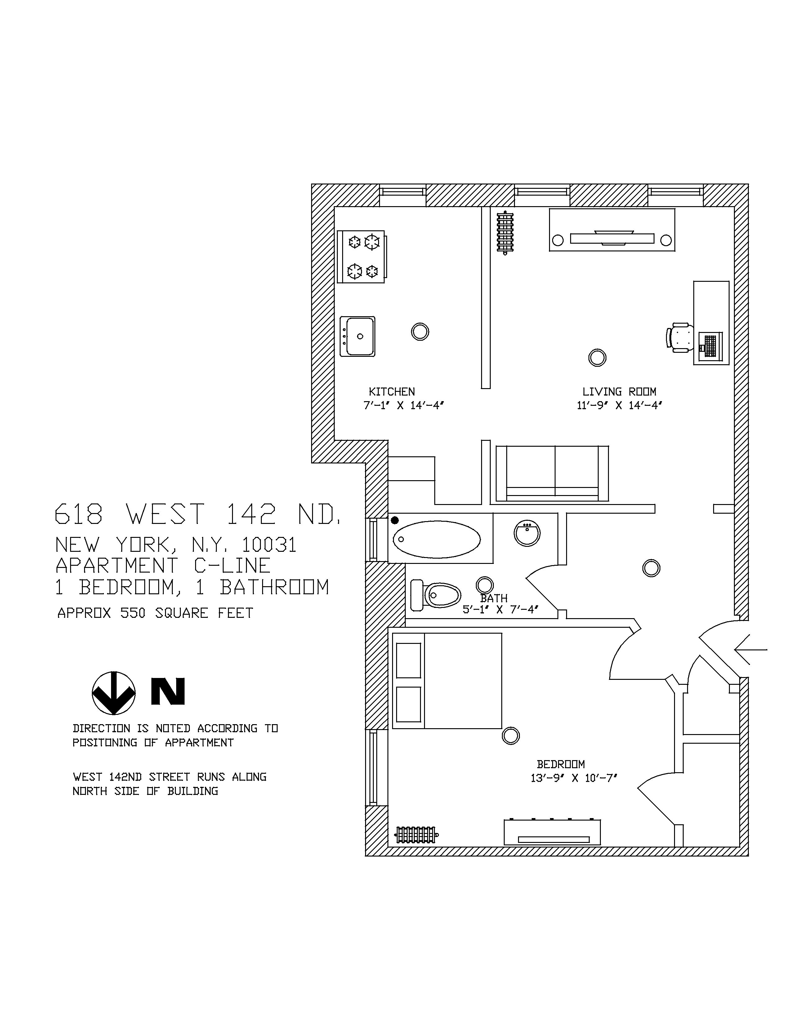618 W 142nd St New York Ny 10031 6619 Rent