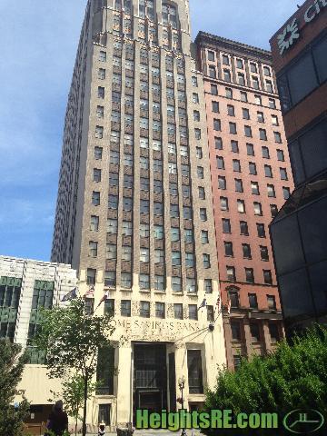 Narrow building Albany NY. S Pearl St