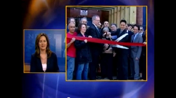 News 12 - YOHO unveiling new entrance