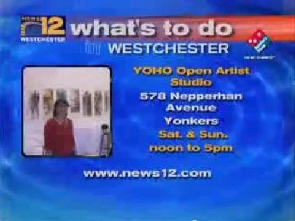 YOHO Open Artist Studio Mentioned on Channel 12