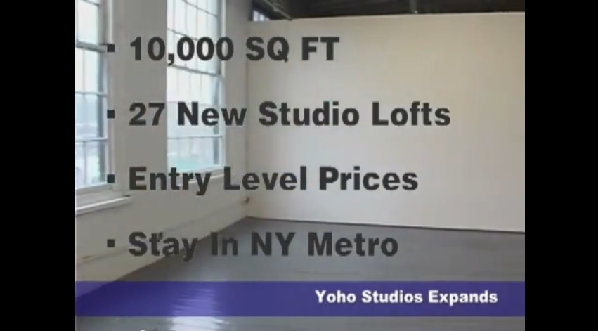 Expansion Plans - 25 New Artist Studios on 4th floor